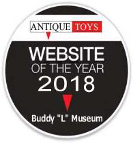 Buddy L Toy Museum voted vintage toy website of the year Buddy L Museum buying vintage toys free toy appraisals contact your antique toys for sale buying toy colelctions large or small Free online toy appraisals