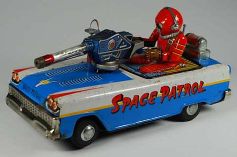 vintage space toys buddy l cars japanese tin robots, buying japan and american antique toy trucks, cars, robots,  free accurate toy appraisals quick antiqeut toy appraisals keystone trucks